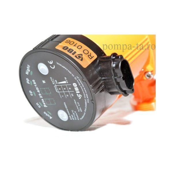 Pompă de reciculare, electronică IBO BETA 25-60/180