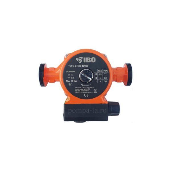 Pompă de recirculare OHI 25-40/180