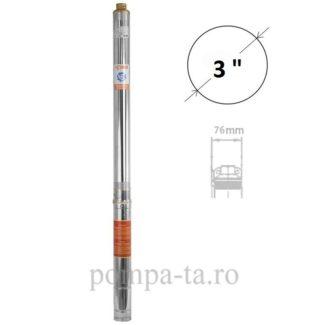 Pompă submersibilă multietajată, rezistentă la nisip, pentru fântâni sau foraje IBO 3STm16
